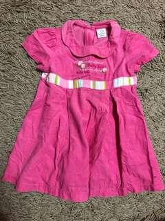 Pink Dress 1-2years