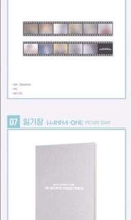 [LOOSE ITEM] 2nd Slot - WANNA ONE 2019 SG