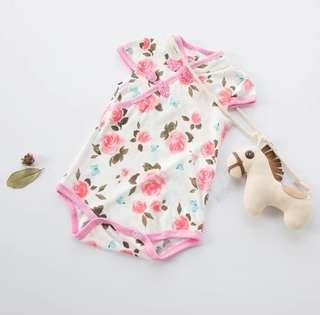 [Pre-order] Baby Chinese New year romper cheongsam qipao clothes