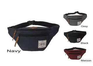 Tas Selempang / waist bag Owel. 45 x 20 x 12 cm. Cordura. Barang dijamin sesuai gambar. Idr 55000