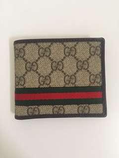 RM2,199 Gucci Monogram Bifold Tricolour Wallet