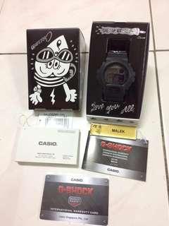 Casio gshock original dw6900ms1 x chocomoo