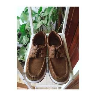 New Sperry Shoe, original Leather Suede Tan