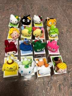 麥當勞 Sanrio 珍藏絕版 全套 水果公仔