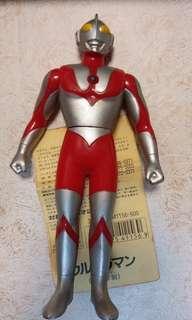 Ultraman咸蛋超人 膠公仔 17cm高 ❨舊版,1993年❩ -七星俠 吉田 太郎