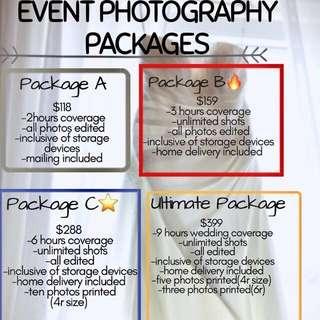 [PROMO]Event photography services