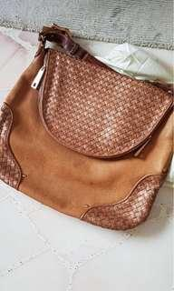 Raoul Brown leather handbag