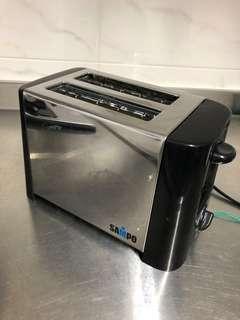 全新SAMPO吐司麵包機