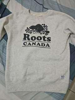 全新 roots正品大學T