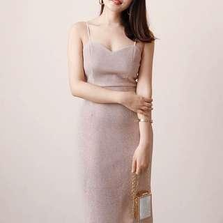 Shiny Dinner/Party Dress