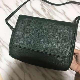 H&M Forest Green Sling Bag