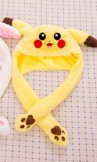 pikachu with moving ears