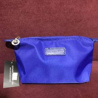 Blue pouch Longchamp
