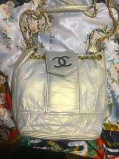 Chanel Vintage Ivory back pack