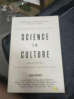 Science is culture