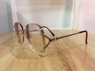 Vintage Yves Saint Laurent 12k Gold filled Glasses