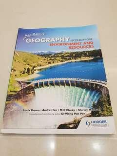 Secondary 1(Sec1) Geography Textbook