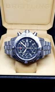 Breitling Chrono Avenger Titanium Wristwatch
