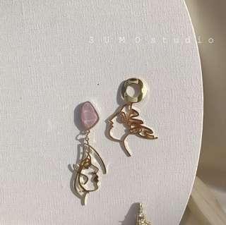 🚚 Greek Goddess Earrings