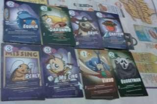 Book bugs 2 cards set 2