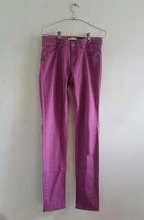 Uniqlo Purple Jeans #FEBP55