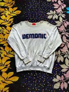 Sweatshirt demonic