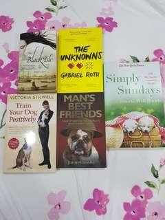 Preloved Fiction and Non-fiction Books!