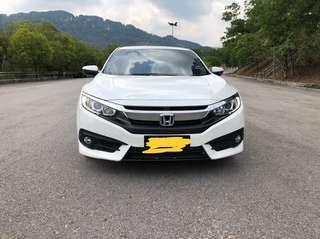 Honda FC vtec for rental
