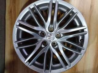 Suzuki 18 inch 5 X 114.3 (5 pcs) Japan Rim