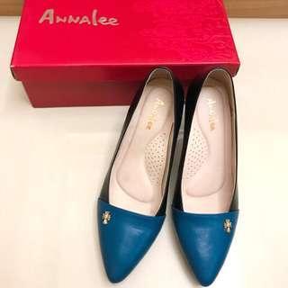 🚚 ANNALEE 撞色高跟鞋 23cm