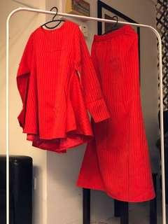 Red Kurung
