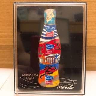 🚚 可口可樂 2004 奧運限量徽章
