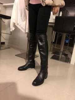 🚚 歐洲名牌salamander真皮及膝長靴