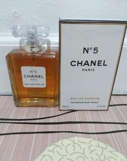 New ori spore parfum chanel n5