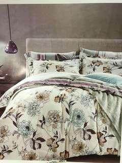 4in1 bedsheets cotton tela