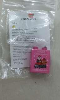 Limited Edition Christmas Brick legoland malaysia