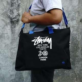 STUSSY 30th Anniversary 2 Way Shoulder Totebag