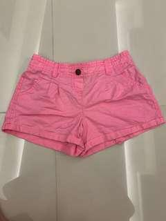 Pink shorts from Cotton On (size Six)