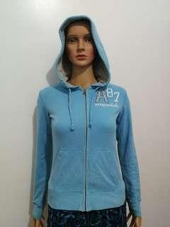 Aeropostale Blue Hoodie Jacket