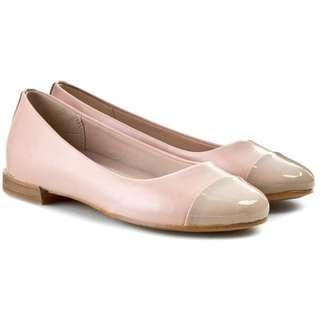 Clarks Festival Gold Ballet pumps in Pink UK6