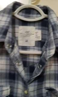 Plaid Polo Cotton