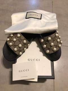 Gucci GG Supreme Beige Ebony