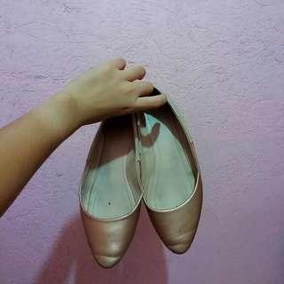 Zalora Two Tone Ballerinas