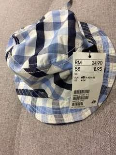 H&M Blue Cap Hat 4-6M
