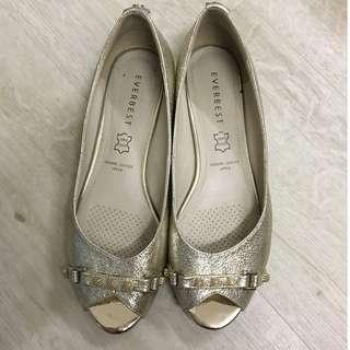 Everbest Wedding Shoes Silver and Gold