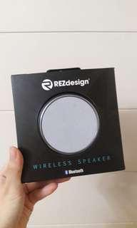 Rez design wireless speaker 藍牙喇叭