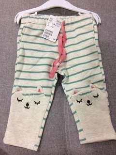 H&M baby long Pants 6-9M