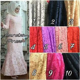 Plus Size Lace Dress S-7XL