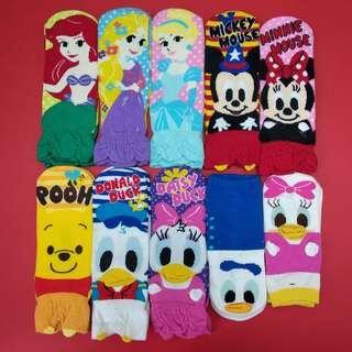 Disney socks 迪士尼純棉短襪