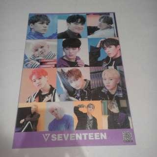 On-Hand Seventeen Unofficial Posters (Group)